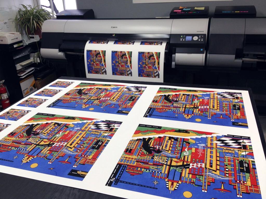 什么是艺术微喷(Giclee)和数字艺术微喷印画(Giclee Print)?