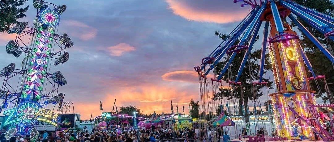 期待!Saanich嘉年华游乐场今年有戏开放!!无语,居然有人划车胎为乐。。