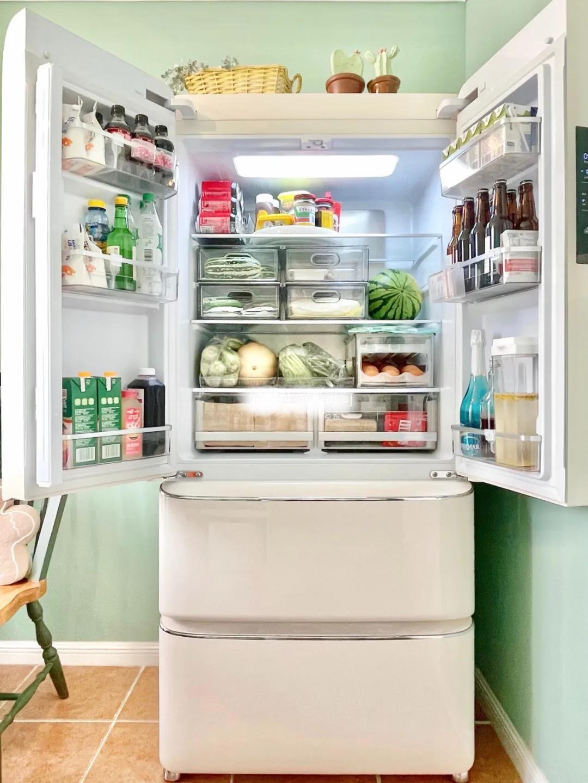 冰箱收纳:好拿取易维持,一看就会